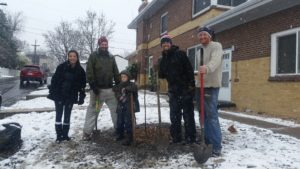 WeCAN teams plant trees for Denver Digs Trees day
